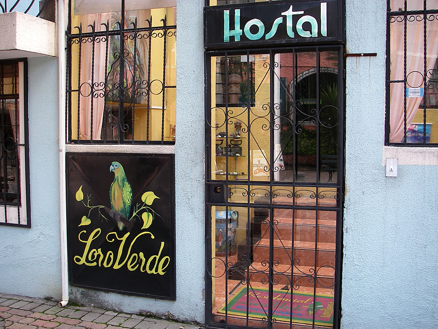 We stayed at Loro Verde.