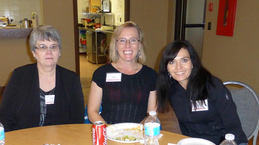 Brenda Sinclair, Ellen Jorgensen, Marlene Renee