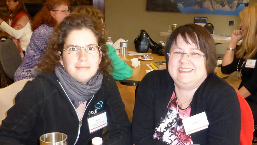Alyssa Linn Palmer and Jennifer Howard