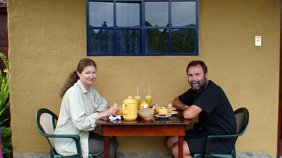 breakfast in Vilcabamba