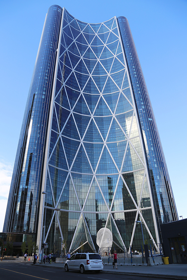 """The Bow"" is Calgary's tallest building."