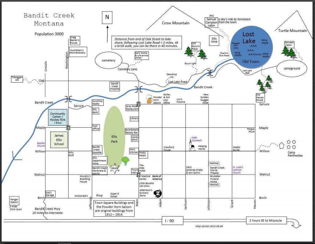 Bandit Creek, present day
