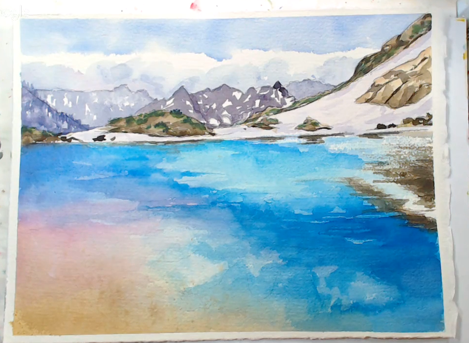 watercolor by Lindsay