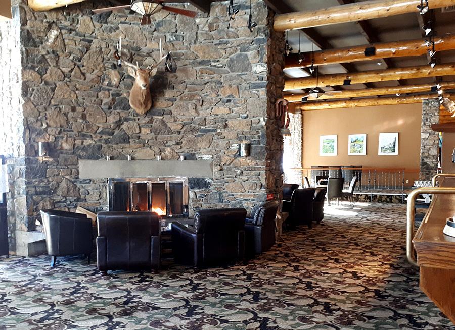 empty Chimney Corner Lounge